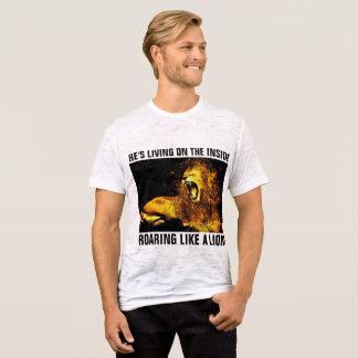 Camisetas CRISTIANAS, JESÚS QUE RUGE COMO UN LEÓN