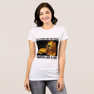 Camisetas CRISTIANAS, LEÓN de JUDAH QUE RUGE