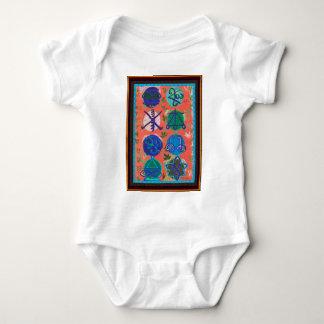 Camisetas curativo del regalo de los símbolos de