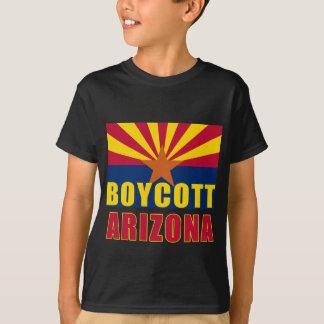 Camisetas de ARIZONA del BOICOTEO, botones,