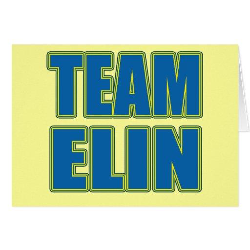 Camisetas de Elin del equipo, sudaderas con capuch Felicitaciones