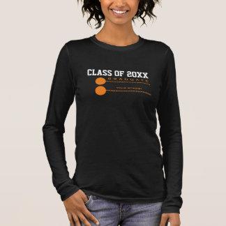 Camisetas de encargo de la graduación de la