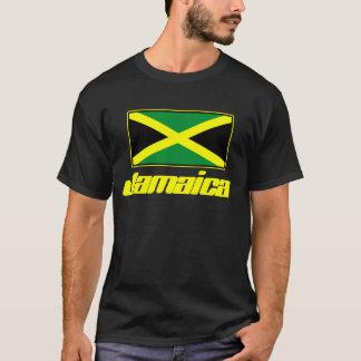 Camisetas de Jamaica (negro con la bandera de