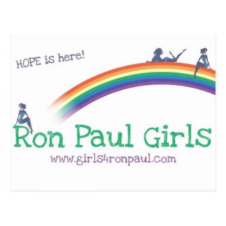 Camisetas de la esperanza de los chicas de Ron Postal