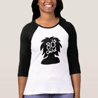 camisetas de la mujer del niño 80s