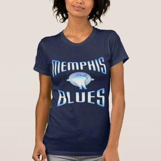 Camisetas de la oscuridad de los azules de Memphis
