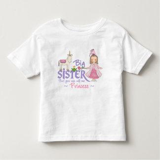 Camisetas de la princesa hermana grande del
