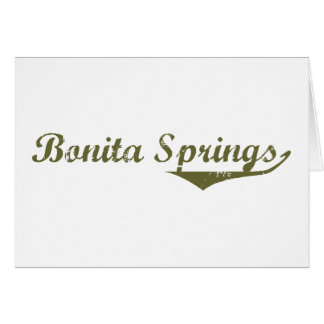 Camisetas de la revolución de Bonita Springs Tarjeta De Felicitación