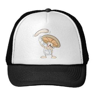 Camisetas de la seta - pasta del panadero del coci gorro