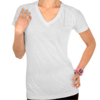Camisetas de las señoras del oso polar de la camis