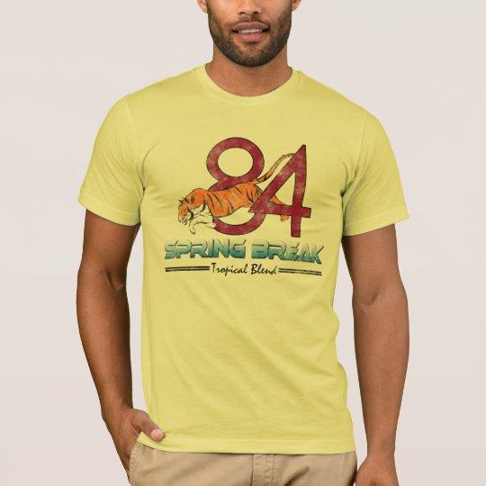 Camisetas de las vacaciones de primavera, vintage