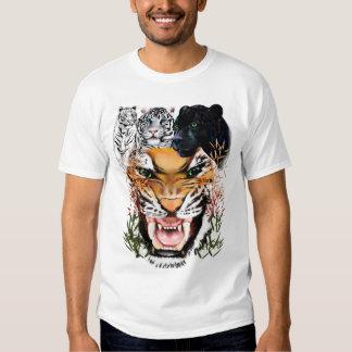 Camisetas de los gatos grandes