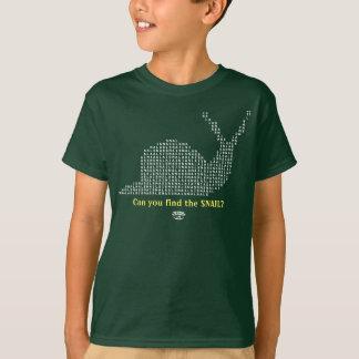 Camisetas de los juegos de palabra - caracol