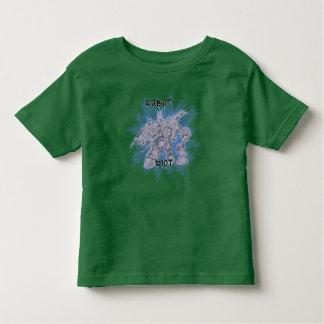 Camisetas de los niños del alboroto 3 del robot