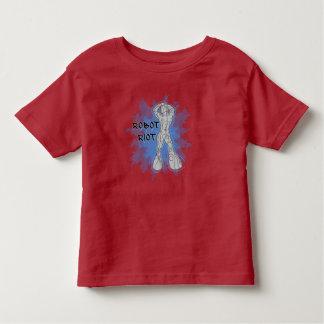Camisetas de los niños del alboroto 9 del robot