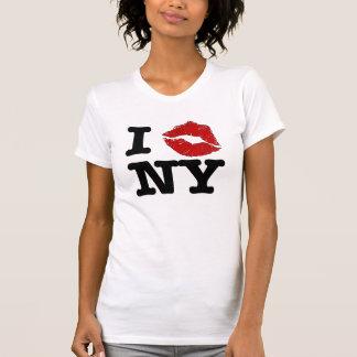 """Camisetas de Nueva York del """"smooch I"""""""