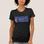 Camisetas de Obama Biden para los hombres, las muj