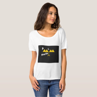 Camisetas de París para las mujeres