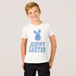 Camisetas de Pascua para el conejito del azul de