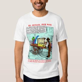 Camisetas de Sr. Skygack Observes Popcorn Vendor