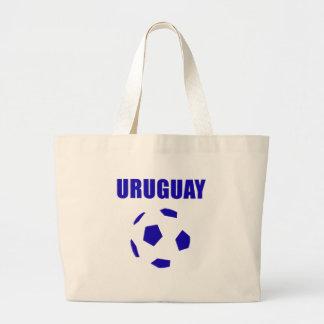 Camisetas de Uruguay futbol/futebol Bolsa Tela Grande