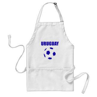 Camisetas de Uruguay futbol/futebol Delantal