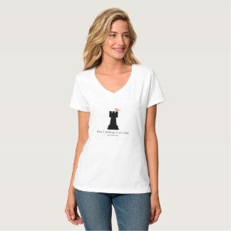 Camisetas del ajedrez de las mujeres
