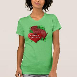 Camisetas del amor de Quokka