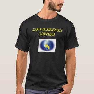 Camisetas del autismo de ASD Houston (negro)