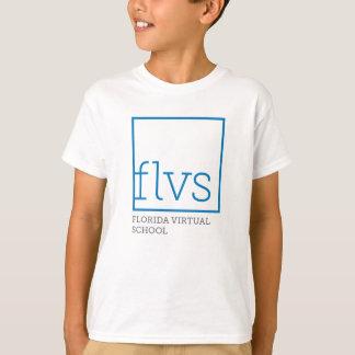 Camisetas del blanco de la juventud de FLVS