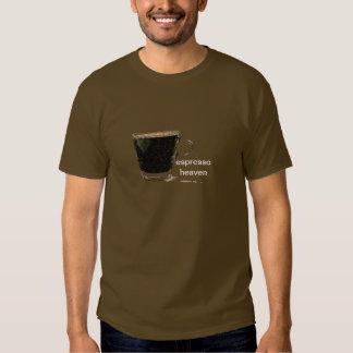 Camisetas del bosquejo del cielo del café express