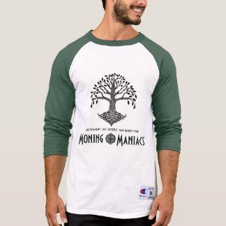 Camisetas del campeón del maniaco de Moning