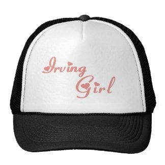 Camisetas del chica de Irving Gorros Bordados