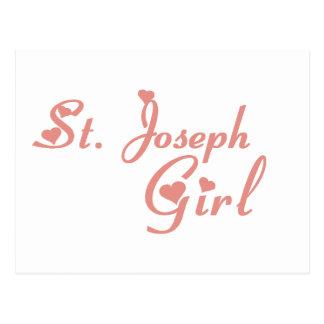 Camisetas del chica de San José Postal
