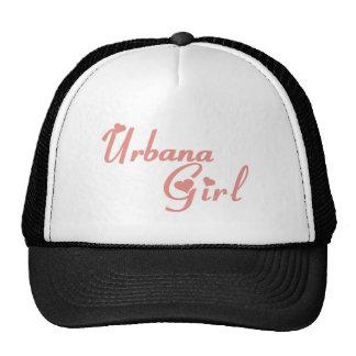 Camisetas del chica de Urbana Gorros Bordados