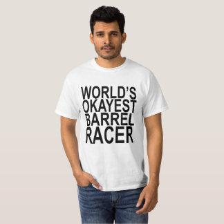 Camisetas del corredor del barril de Okayest del