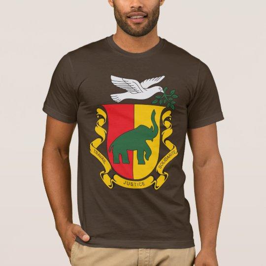 Camisetas del escudo de armas de Guinea 1958) (