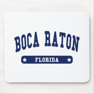 Camisetas del estilo de la universidad de Boca Rat Alfombrillas De Raton