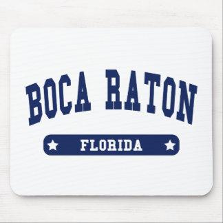 Camisetas del estilo de la universidad de Boca Rat Alfombrilla De Raton