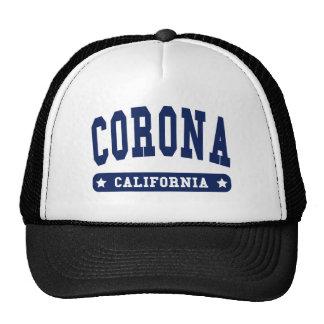 Camisetas del estilo de la universidad de Californ Gorros Bordados