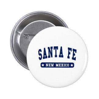 Camisetas del estilo de la universidad de Santa Fe Pins