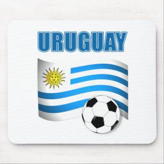 Camisetas del fútbol de Uruguay Alfombrilla De Ratón
