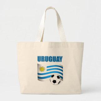 Camisetas del fútbol de Uruguay Bolsa Tela Grande