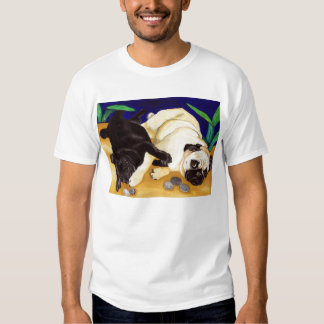 Camisetas del juego del barro amasado