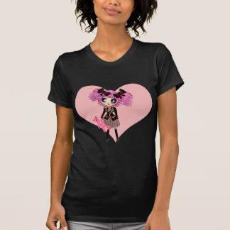 Camisetas del lolita de la colegiala de PinkyP del