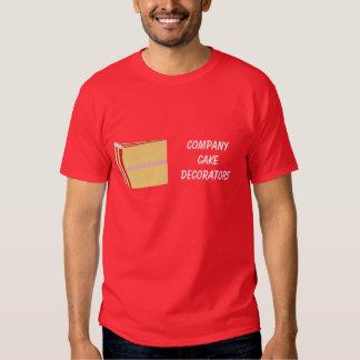 Camisetas del negocio del decorador de la torta