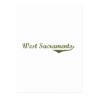 Camisetas del oeste de la revolución de Sacramento Postales