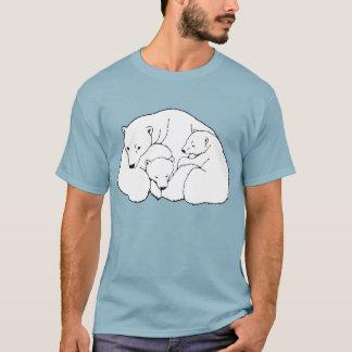 Camisetas del oso del bebé del tamaño extra grande