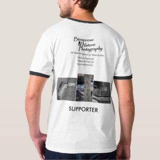 Camisetas del partidario de la fotografía de la