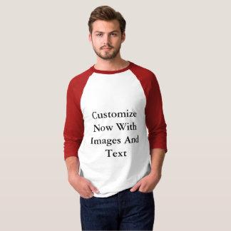 Camisetas del raglán - hombres de 3/4 manga